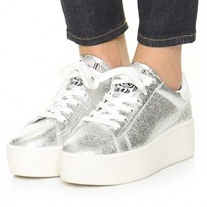 Limited Ash Cult Platform Metallic Sneakers